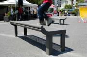 Mobilier urbain pour skatepark - Pour la pratique du skate,  roller, bmx - Pour l'environnement extérieur d'une ville