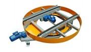 Module avec convoyeur à 2 chaînes - Commande par moteur
