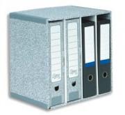 Module de classement R-KIVE 4 compartiments gris blanc - R-KIVE