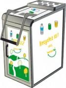 Module de tri ludique - Compacteur canettes et bouteilles - Capacité : 800 emballages