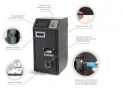Monnayeur à écran tactile 7 pouce  - Monnayeur avec le system anti-effraction