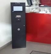 Monnayeur automatique à écran tactile - Solution d'encaissement sécurisée
