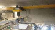 Monorail à grappin électro hydraulique - Pour traitement des boues