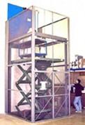 Monte charge à ciseaux - Charge nominale : de 1000 à 6000 kg