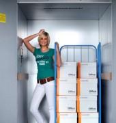 Monte charge électrique 1 personne - Monte charges capacité 750/1000 kg