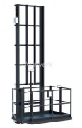 Monte-charge électro-hydraulique simple colonne - Élévateur de charges pour manutention levage