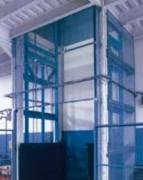 Monte-charge entrepôts - A colonne - Compact