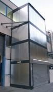 Monte charge extérieur - Possibilité de s'intégrer dans une chaîne de production automatisée