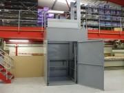 Monte charge industriel 1500 kg - Capacité de charge : de 750 à 1500 kg