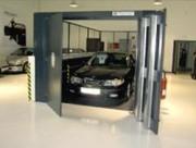 Monte charge industriel pour voiture - Hydraulique