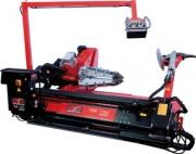 Monte démonte pneus pneumatique - Pour des jantes jusqu'à 60 pouces - roues de 2500mm de diamétres. Machine automatique sans levier