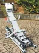 Monte escalier-droit pour fauteuil roulant - Fabrication : Métal léger - Charge max : 160 Kg
