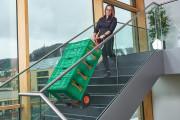 Monte-escalier électrique pour climatiseur. - Capacité : 100 kg à 680 kg.