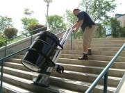 Monte-escalier électrique pour fût - Capacité : 100 kg à 680 kg.