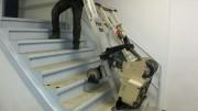 Monte-escalier électrique pour nettoyeur de déménagement - Capacité : 100 kg à 680 kg.