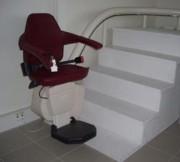 Monte escalier monorail - Pour escaliers tournants