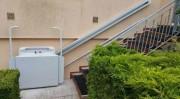 Monte escalier PMR - Capacité de levage : 225 kg  -  Utilisation Droite / Gauche