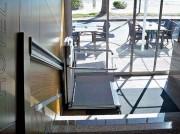 Monte escalier pour handicapé - Rail d'aluminium anodisé de tube de 50 mm
