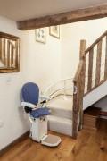 Monte-escalier tournant - Poids maximum : 120 kg