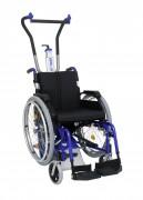 Monte-escaliers à fauteuil roulant intégré - Capacité de charge maximale : 125 kg