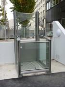 Monte handicapé ouverte 2 ou 3 mètres - Capacité jusqu'à 500 kg