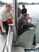 Monte handicapé pour plongeur