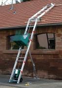 Monte matériaux 150 kg - Hauteur de travail maximale : 15,5 m - Charge utile 150 kg