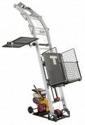 Monte matériaux à échelle aluminium renforcée - Charge utile : 200 kg