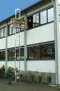 Monte matériaux aménagement - Hauteur de travail maximale : 40 m - Charge utile 150 kg