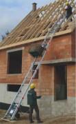 Monte matériaux de chantier aluminium renforcé polyvalent - Charge maxi : 200 kg