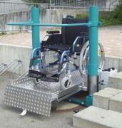 Monte-personnes handicapées - Charge max supportée (Kg) : 300