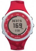 Montre cardio rouge - Double fuseau horaire -  Chronomètre