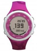 Montre cardiofréquencemètre Fuschia - Double fuseau horaire