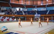 Moquette de gymnastique rythmique - Dimensions (L x l) : 14 x 14 m
