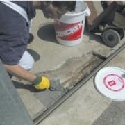 Mortier de réparation béton pour Intérieur et extérieur - Temps de séchage : 3 heures à 10°c