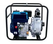 Motopompe haute pression à châssis renforcé - Débit max : 30 m3 / Puissance : 4.1 CV