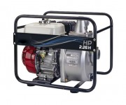 Motopompe professionnelle haute pression - Autonomie : 3.4 heures - Hauteur d'élévation : 57 m