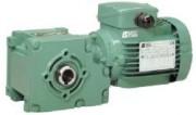 Motoréducteur électrique Minibloc - Puissances : de 0,06 à 0,37 kW.