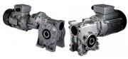 Motoréducteur roue et vis - Couples de 2,4 à 3020Nm