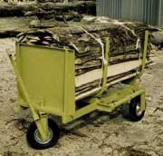 Moule à fagot pour mise en paquets de délignures - Charge admissible 1200 kg - Longueur chassis 1700 mm