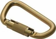 Mousqueton verrouillage semi-automatique - Diamètre ouverture : 17 mm