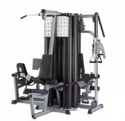 Multi station de musculation - - Dimensions : Long 281 cm x Larg 223 cm x H 212 cm
