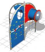 Multijeu à grimper pour espace vert - Dimensions (L x P x H) cm : 323 x 260 x 300