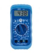 Multimètre multifonctions - Mesure : tension AC et DC - courant DC - luminosité - niveau de bruit - humidité