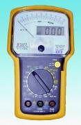 Multimètre numérique et analogique - Permet de tester les tensions secteur