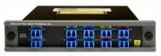Multiplexeur démultiplexeur de réseau - La perte d'insertion totale est comprise entre 4.0 et 6.0 dB selon les versions