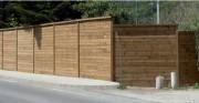 Mur anti bruit route - Dimension: jusqu'à 5 m de hauteur