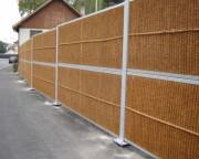 Mur anti bruit végétalisable