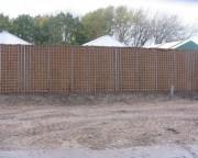 Mur anti bruit végétalisé - Isolation acoustique EN 1793-2 DLr de 67 dB - haute isolation