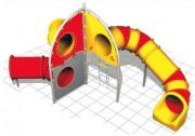 Mur d'escalade pour aires de jeux - Dimensions (L x P x H) cm : 575 x 350 x 300